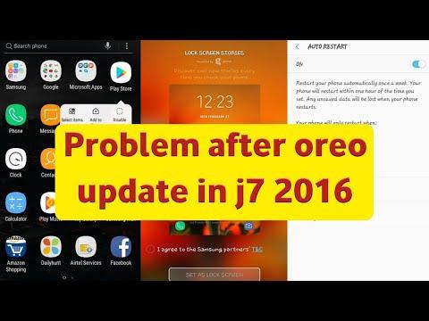 Samsung j7 2016 after oreo update - смотреть онлайн на Hah Life