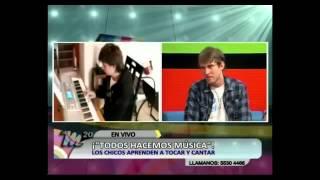 Entrevista a Ralf Niedenthal en el programa de Tv M 20, canal Somos Norte.