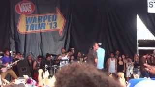 3OH!3 - I'm Not Your Boyfriend Baby / Chokechain HD (Live at Warped Tour 2013 Toronto)