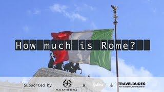 preview picture of video 'Things to do in Rome in one day (Rome Guide & Budget Check)'