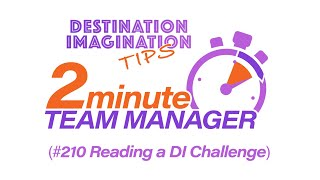 How to Read a DI Challenge
