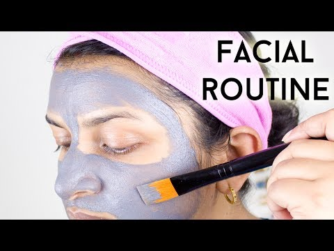 Easy Facial Routine (Ft. BeautyBigBang Face Mask Brush)