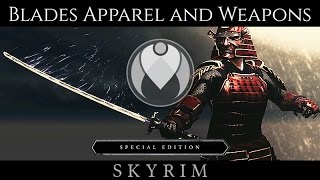 AKAVIRI SAMURAI APPAREL AND WEAPONS | Skyrim SE Ultra ENB Graphics | Nvidia GTX 1080