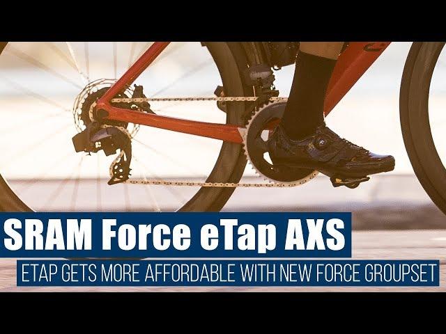 Видео Групсет Sram Force eTap AXS 2X D1 Groupset