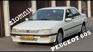 Złomnik: Peugeot 605, zachwycający francuski samobój