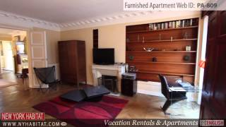 preview picture of video 'Video Tour of a 3-Bedroom Furnished Apartment in Madeleine, Paris'