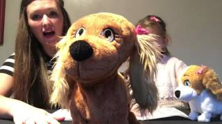 TOY TUESDAY #1. OPENING LUCY & LOLA INTERACTIVE PET DOGS.