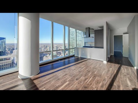 A corner two-bedroom #5702 at the Loop's lavish OneEleven tower