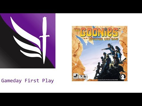 The Goonies: Adventure Card Game - Gameday First Play
