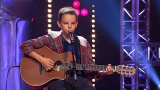 Felix zingt 'Can't Help Falling In Love' | Blind Audition | The Voice Kids | VTM