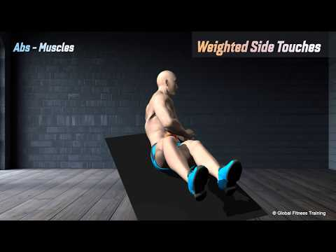 Weighted side touches