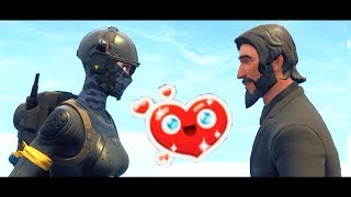 John Wick Falls in Love - A Fortnite Short Film