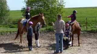Ranch Laredo děti a koně