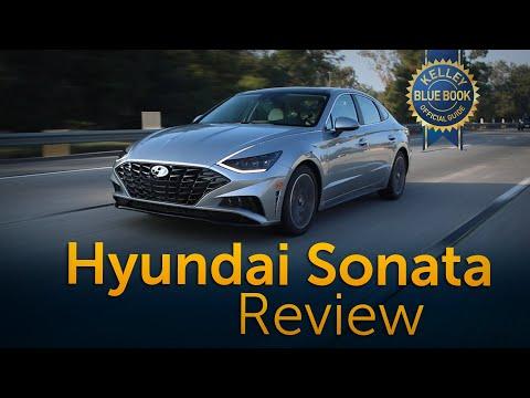 External Review Video QV4rpl-PHqA for Hyundai Sonata & Sonata Hybrid Mid-Size Sedan (8th-gen, DN8, 2020)