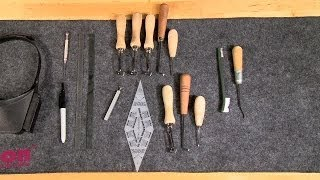 Gunsmithing  Hand Checkering Tools  What They Are And How To Use Them