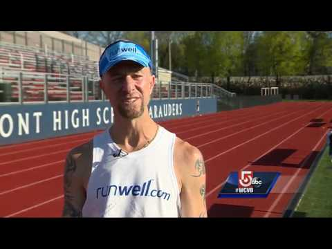 Man running for 24 hours to raise addiction treatment awareness