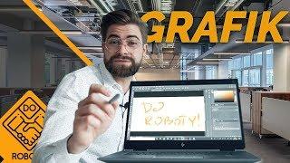 PRACOWAŁEM JAKO GRAFIK | DO ROBOTY