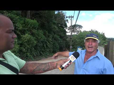 Paulinho Xavi fala que serviço feito pelo Marcelo de Lima na Estrada Velha foi uma Porcaria.