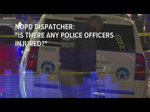 Radio calls detail moment gunfire erupted in Canal Street mass shooting