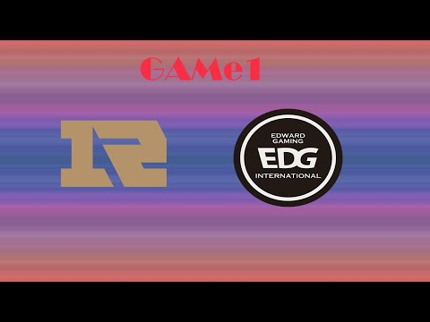 LPL世紀大戰EDG vs RNG