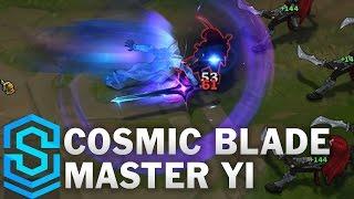 Cosmic Blade Master Yi Skin Spotlight - Pre-Release - League of Legends