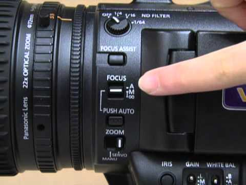 Using the Panasonic AG-AC160 Camera