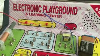 Electronic playground & learning center experiment 1