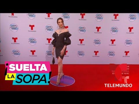Los mejores vestidos en la alfombra de los Latin AMAs 2019 | Suelta La Sopa | Entretenimiento