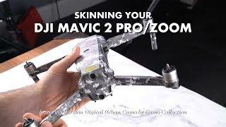 DJI Mavic 2 Skin Installation