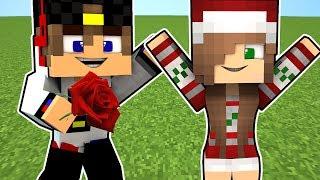 Как познакомится с Девушкой Майнкрафт ПЕ Выживание деревня моды видео мультик для детей Minecraft PE