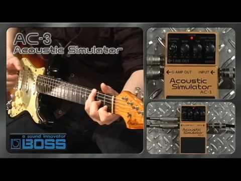 BOSS AC 3 Kytarový efekt