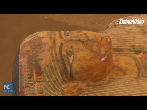 Egypt uncovers 3000-year-old coffins in Luxor