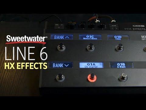 Line 6 HX Effects Guitar Multi-effects Floor Processor