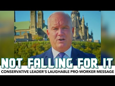 Conservative Leader Shares Laughable 'Pro-Worker' Message