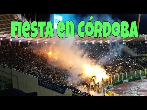 """""""Rosario Central de fiesta en Córdoba vs Boca"""" Barra: Los Guerreros • Club: Rosario Central"""