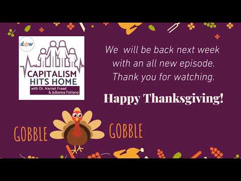 Capitalism Hits Home: Thanksgiving Message