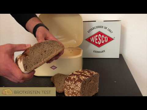 Wesco 235101-23 Single Grandy Brotkasten Test