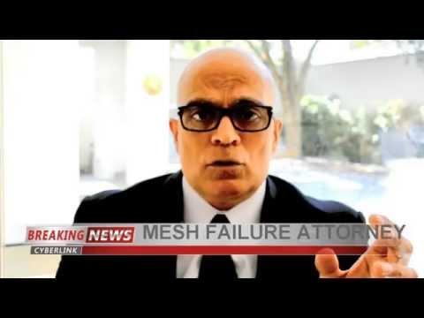 Video - Dr Shezad Malik Filing TransVaginal Mesh Lawsuits Update