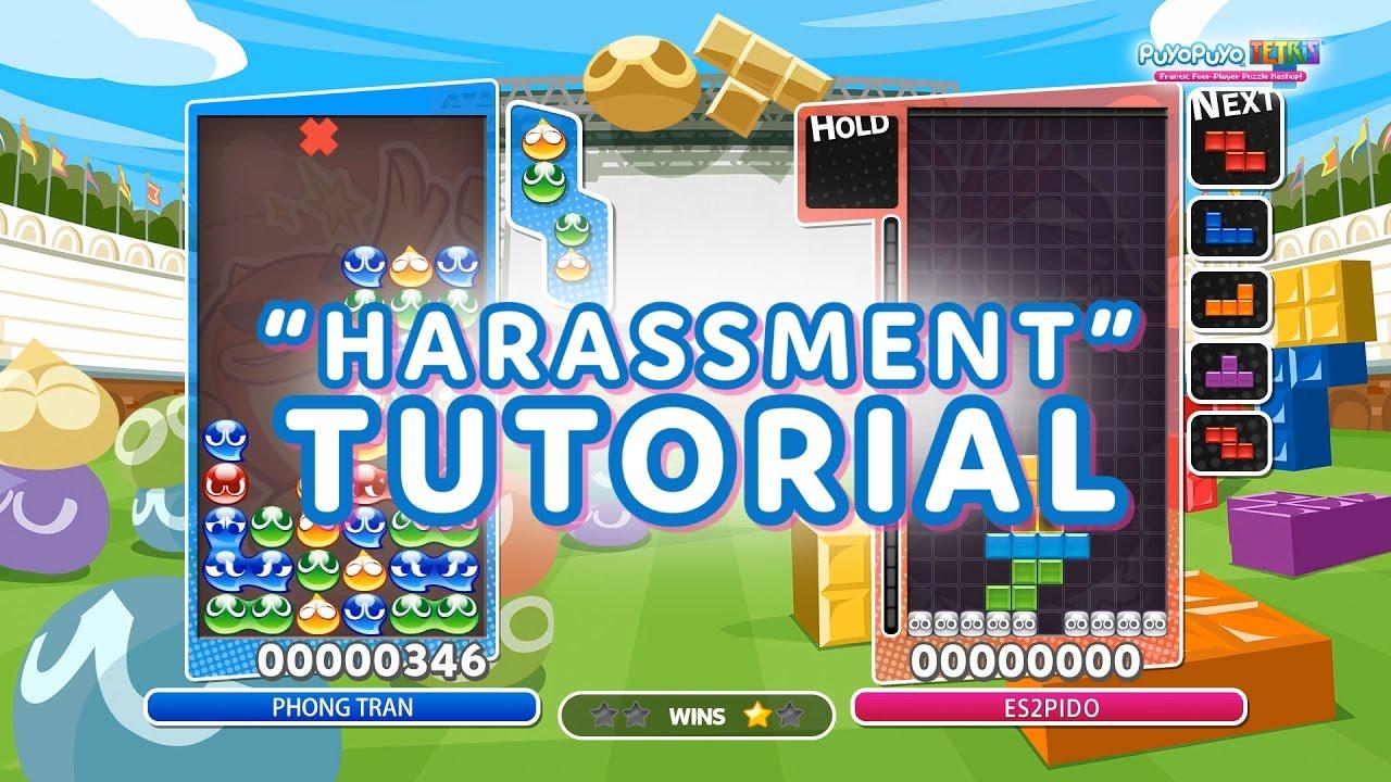 "Puyo Puyo Tetris - ""Harassment"" Tutorial"