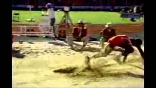 男子走り幅跳び 非公認の大ジャンプ