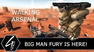 War Robots - BIG MAN FURY - Clan Battle