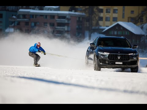 150 kph on a Snowboard Towed by a Vehicle - World Record