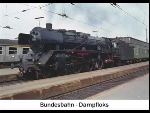 Bundesbahn-Dampfloks - Jahresunabhängiger Eisenbahn-Kalender