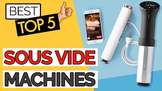 ✅ TOP 5: Best Sous Vide Machine 2020 (at home & budget)