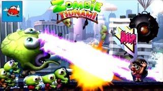 СУМАСШЕДШИЙ ЗАБЕГ ЗОМБИ ЧЕЛЛЕНДЖ в игре Zombie Tsunami Кто съест больше людей