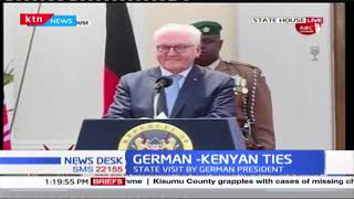 German-Kenyan Ties : State Visit by German President Frank Walter to hold bilateral talks with Uhuru