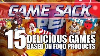 15 Delicious Games Based on Food Products - Game Sack