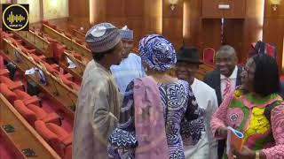 Just In: Senator Abbo Begs Tinubu For Forgiveness At The Senate