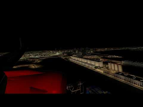 737 X-Plane 11 Night landing | Get this Graphics for FREE