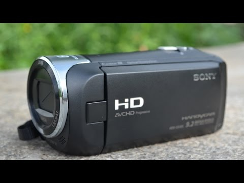 SONY HDR-CX405 HD Handycam Quick Review and operations